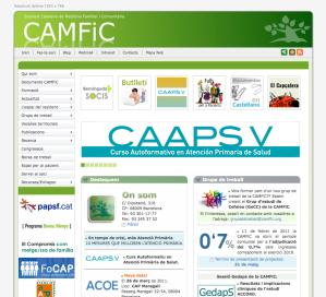 Pagina Web de CAMFiC