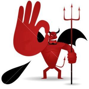 ok+sign+666+devil+satanic