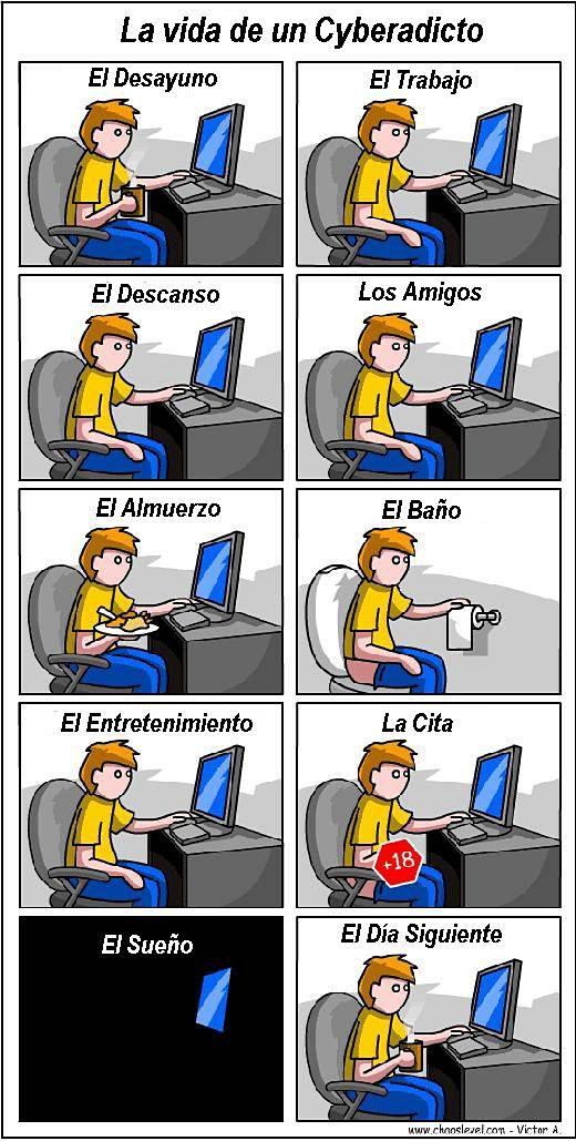 ciberadicto
