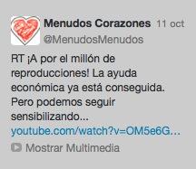 Twitter Menudos Corazones