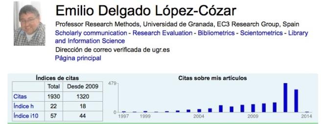 Emilio Delgado Lopez Cozar