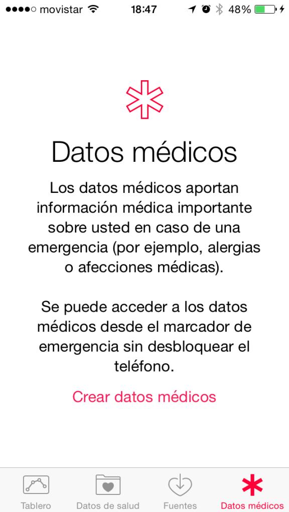 datos medicos