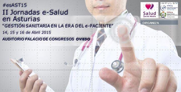 II Jornadas eSalud Asturias 2015#esAST15