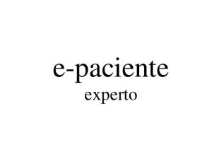 paciente experto
