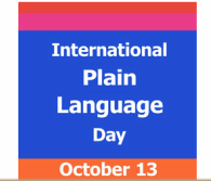 Internationa Plain Language Day
