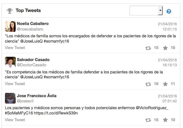 @noecaballero, @DoctorCasado, @joseavil, @somamfyc, #somamfyc15, somamfyc