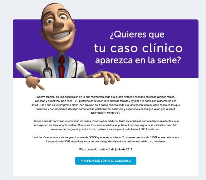 Concurso centro medico