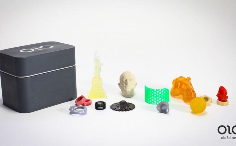 #Artefactados: OLO, impresión en 3D gracias a la luz blanca delsmartphone
