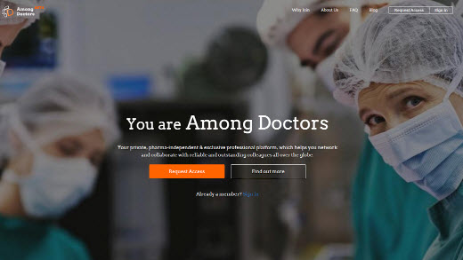 Among Doctors, la red social exclusiva para médicos