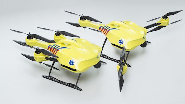 Serial de RCP: los drones ambulancia(III)