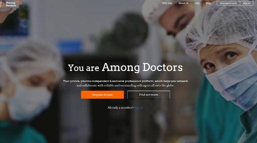Among Doctors: 2.500 médicos de más de 60países
