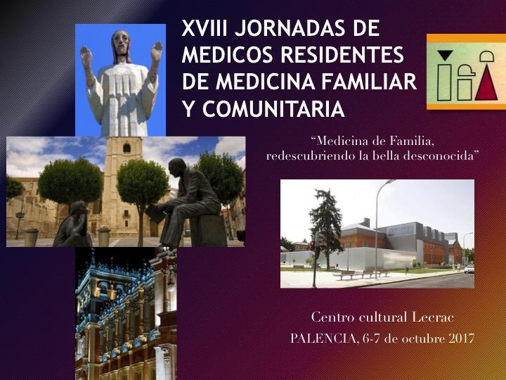 XVIII Jornadas de Residentes de Medicina Familiar y Comunitaria de Castilla yLeón
