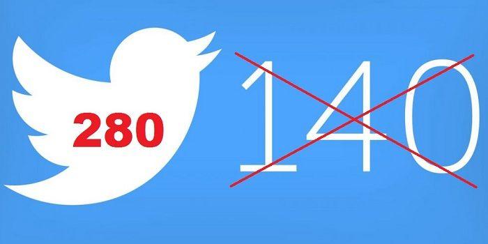 Twitter y los280