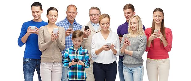 Dime cuántos años tienes y te diré que red socialusas…