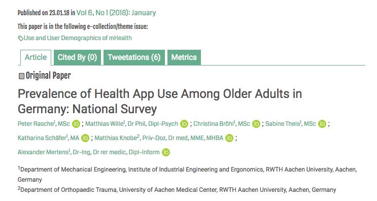 Apps de salud y mayores: ¿un retopendiente?