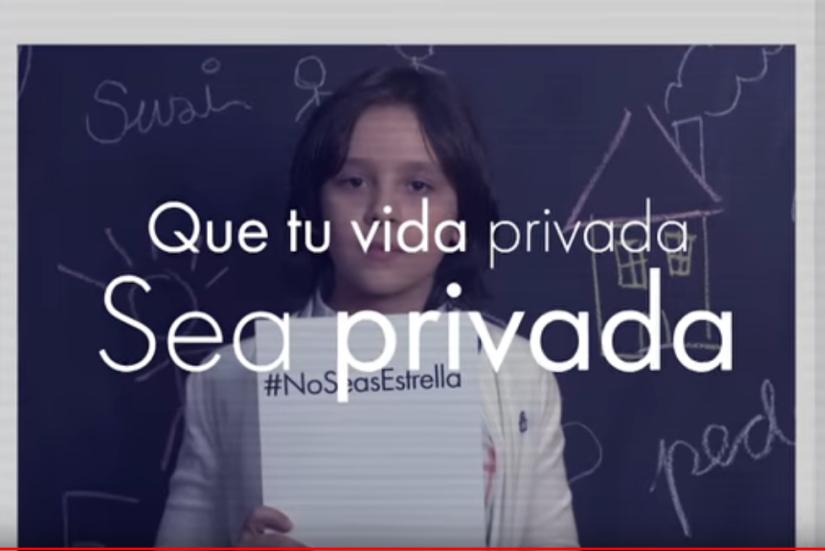 Redes sociales y anonimato#NoSeasEstrella